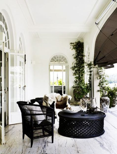 pieces of rattan furniture front porch decorating ideas