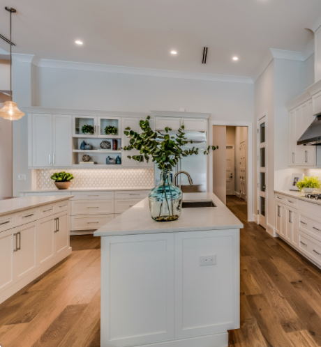popular double island kitchen design