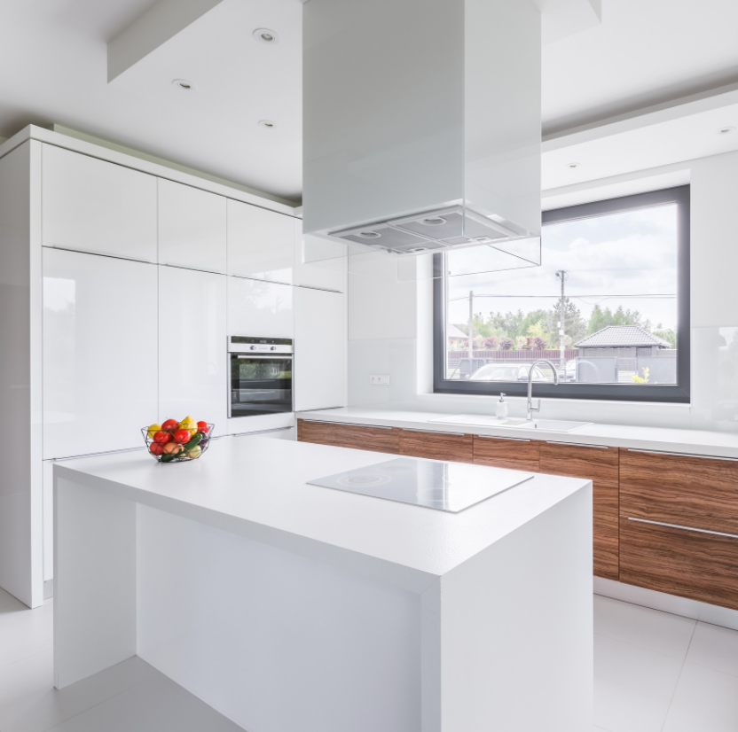 small sized Modern Kitchen Island design