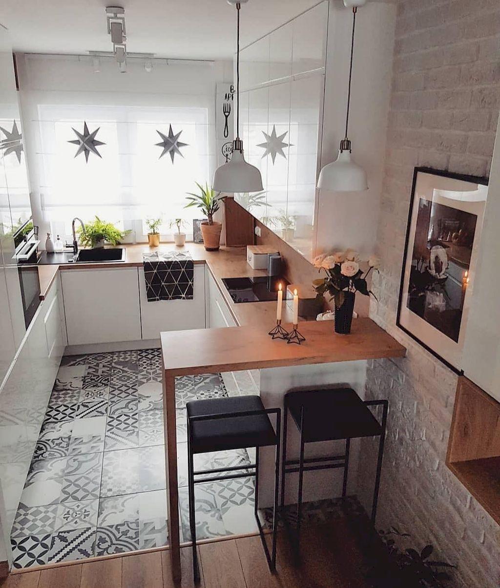 small sized modern kitchen
