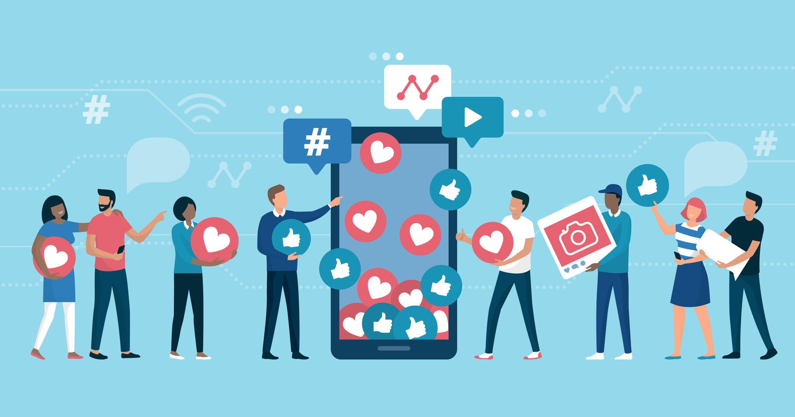 social media for interior design