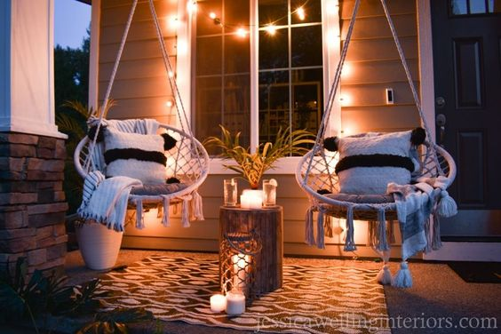 upgrade your porch swings front porch decorating ideas