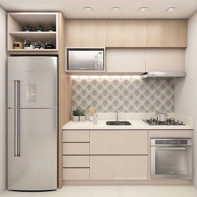 wall mounted kitchen design