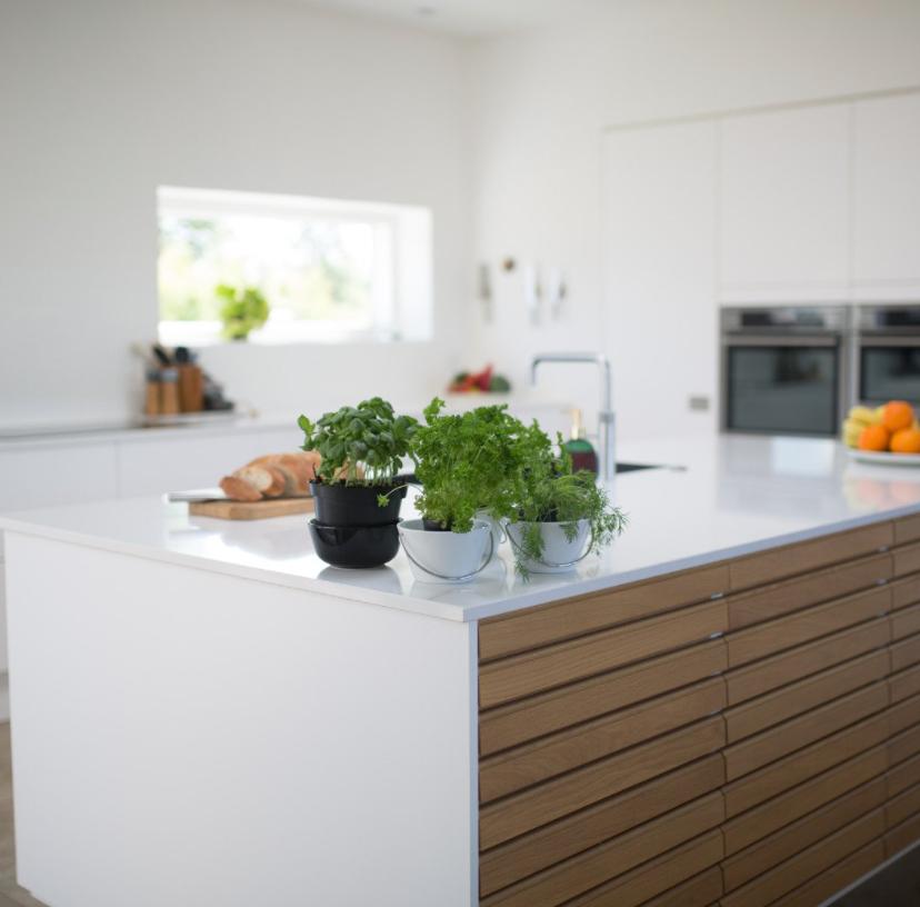 white luxury kitchen design