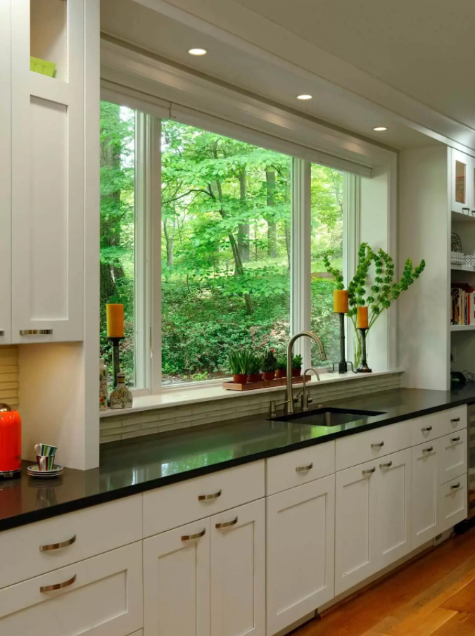 window kitchen design