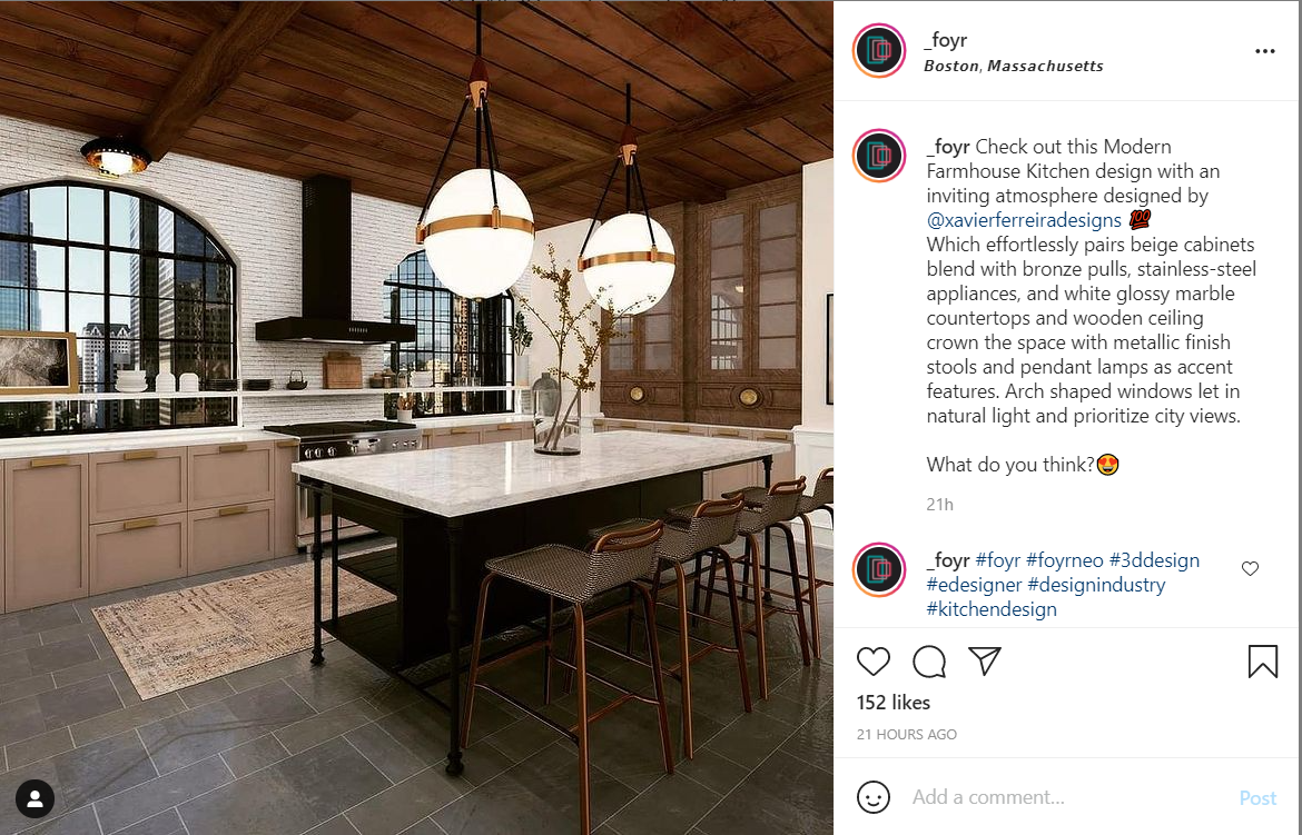 Best Pages to Follow on Instagram for Interior Designers