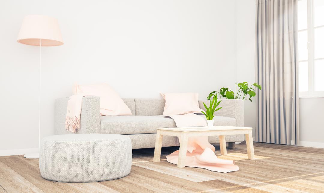 Extra White living room