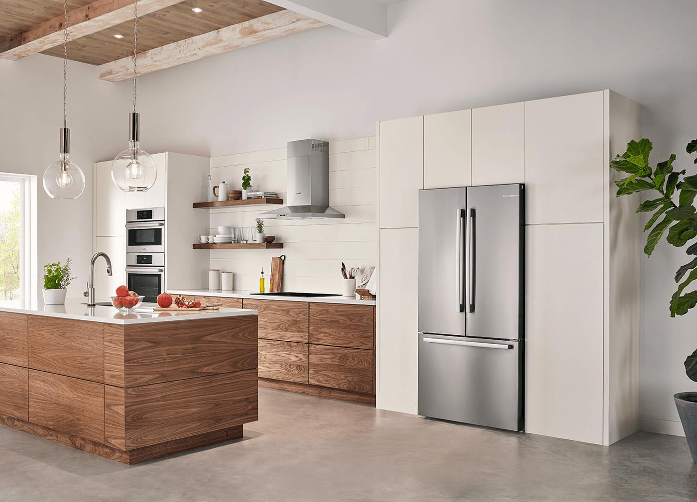 fridge for kitchen counter