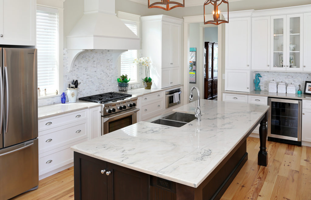 natural texture for kitchen counter