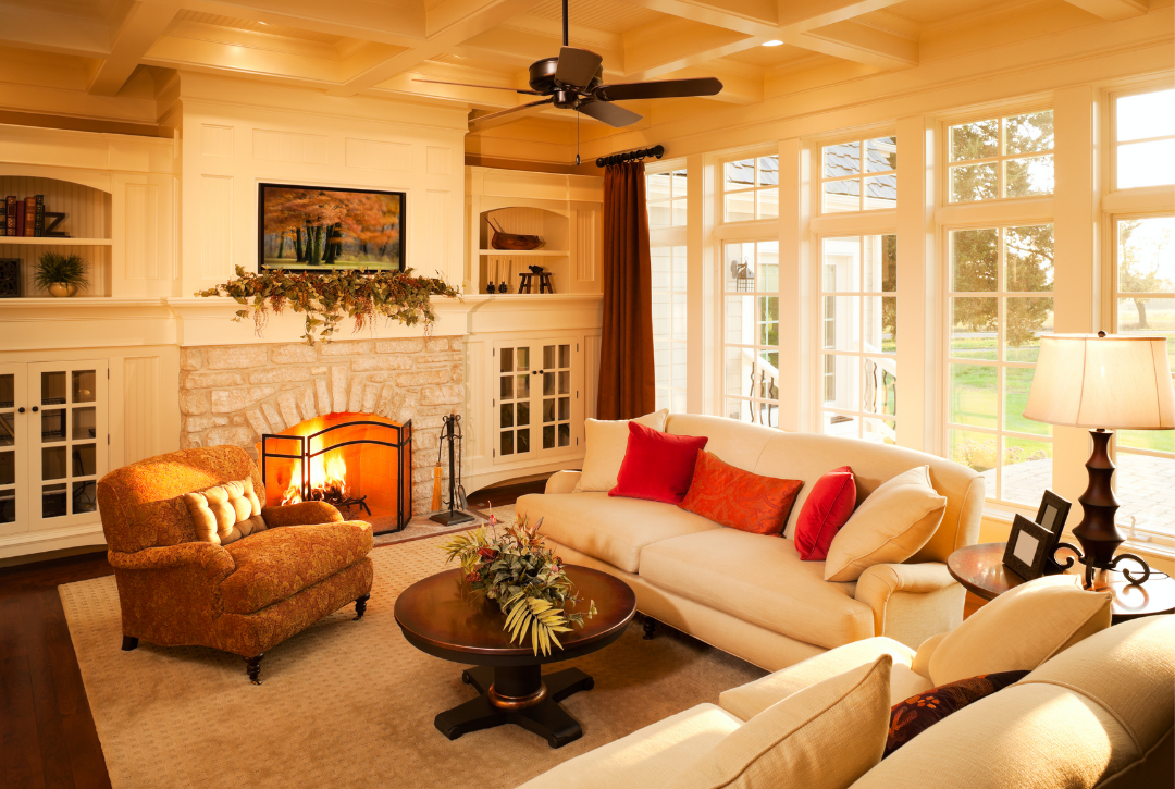 traditional living rooms colors