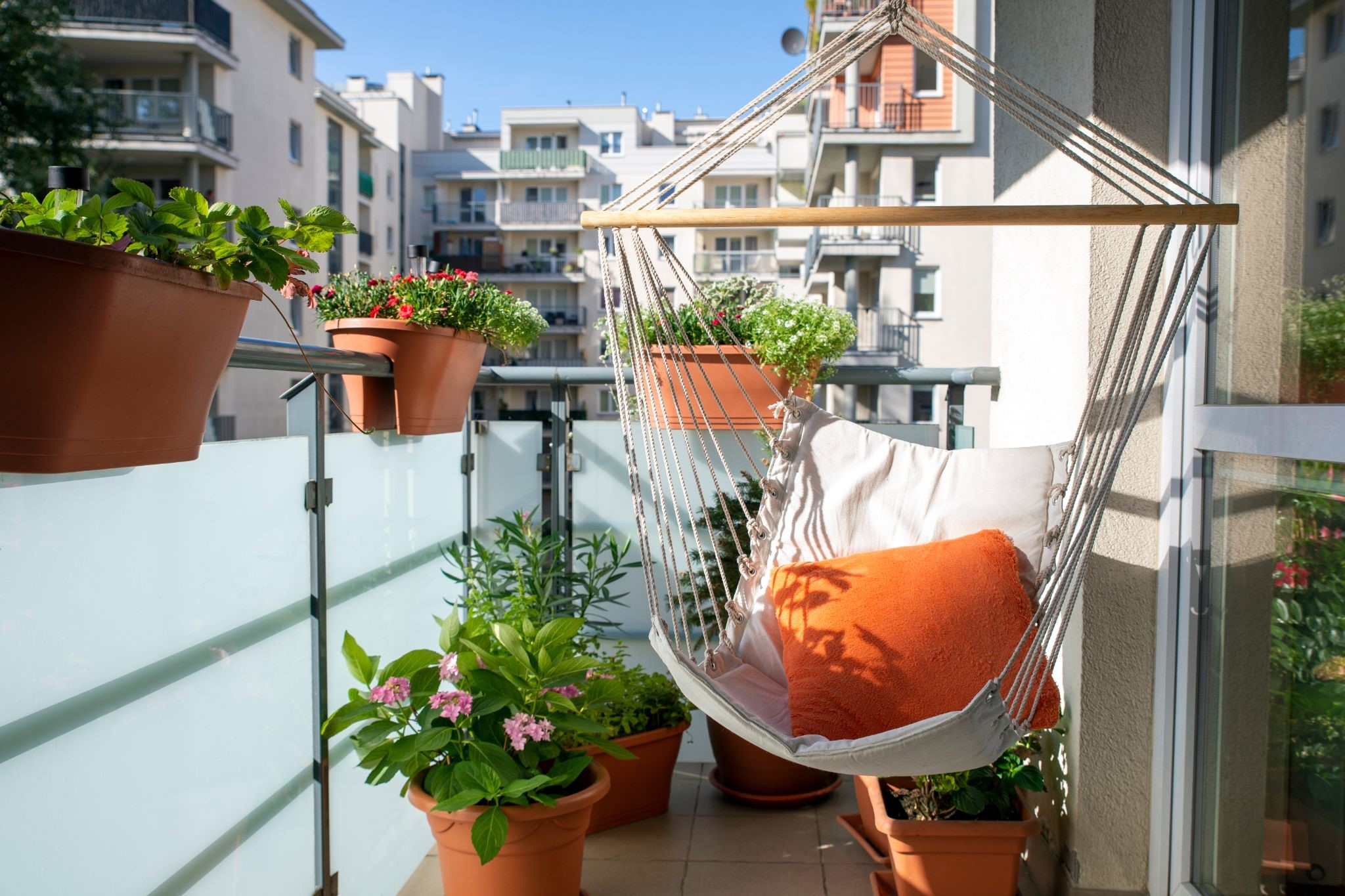 Mediterranean Style Outdoor Area