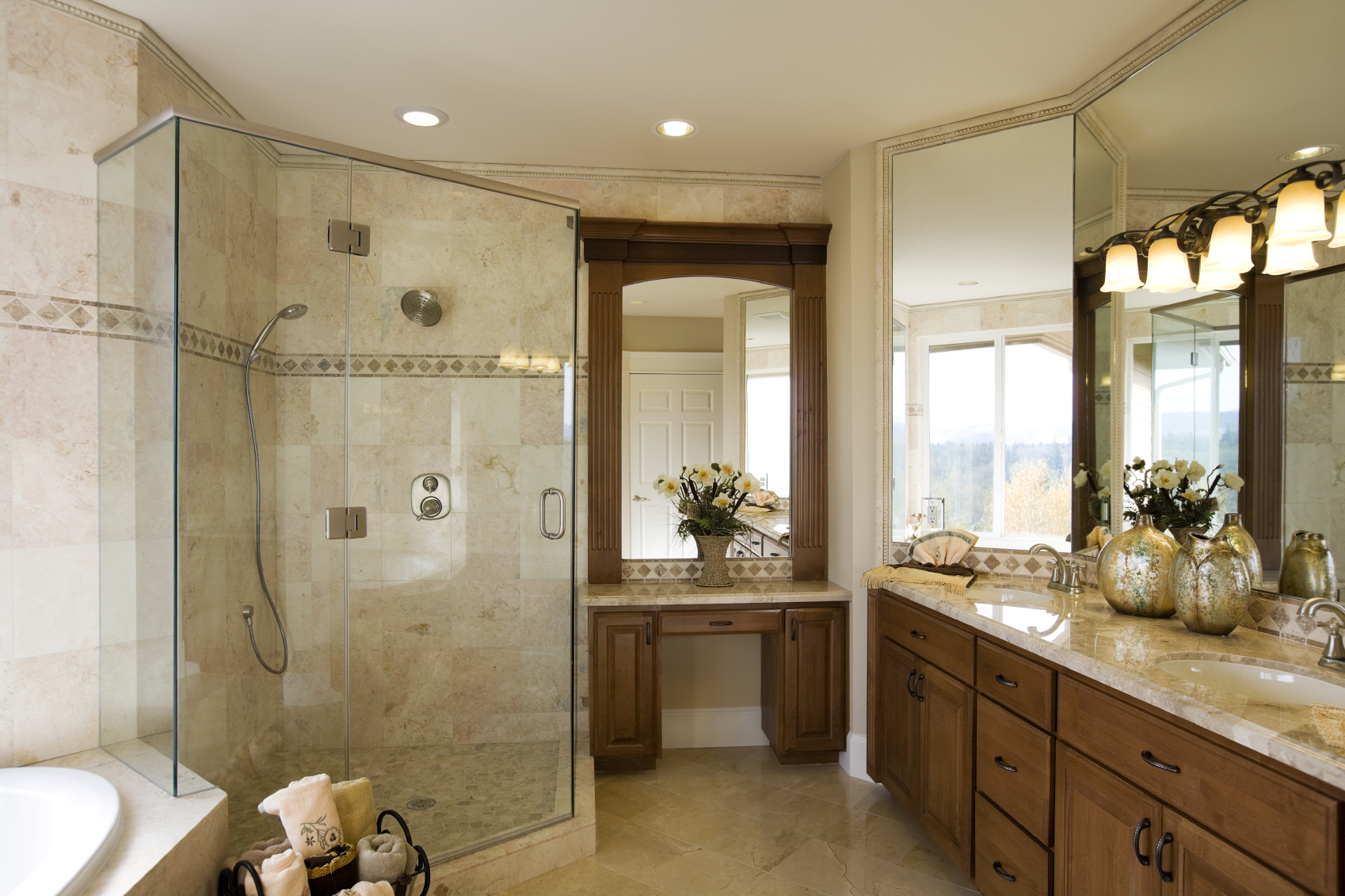 avoid extreme temperatures to maintain bathroom