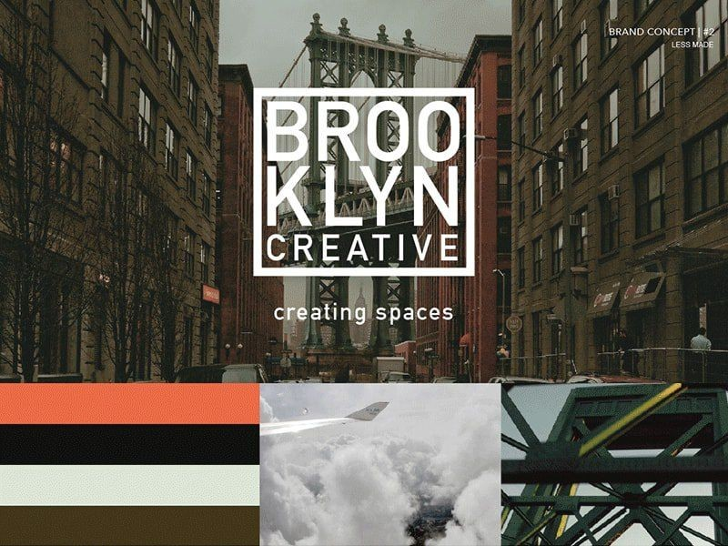 create mood boards with collage designs
