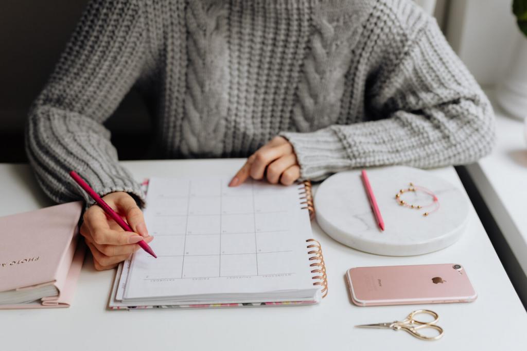 Create a Calendar Set Agendas