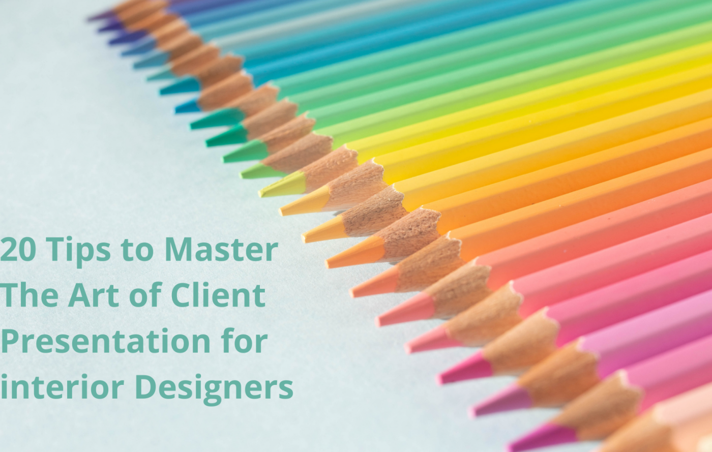 client presentation for interior design business