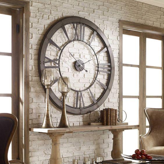 clock - wall decor ideas