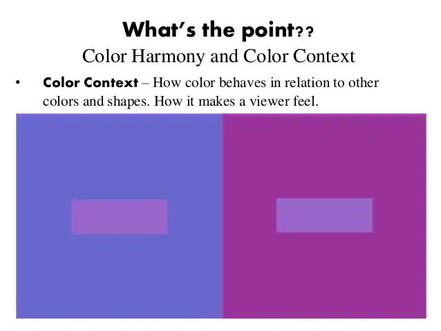 color context