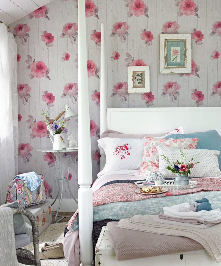 cottagecore interior design for bedroom