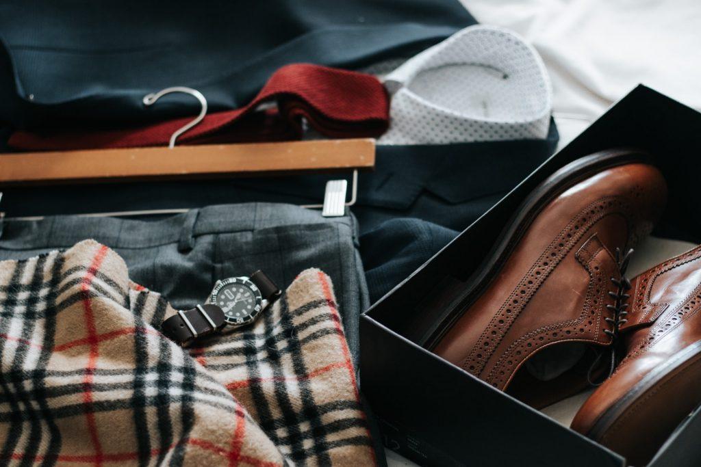 good set of business attire