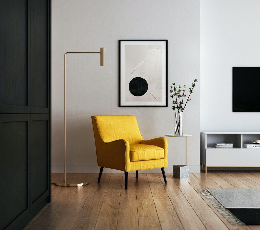 interior design mistakes - hanging art