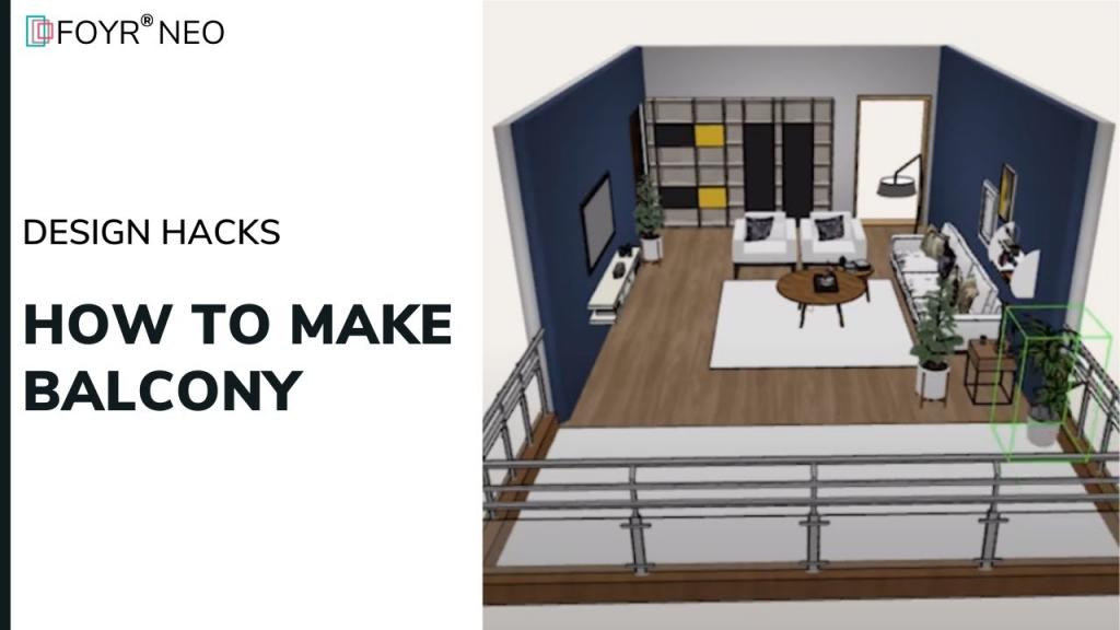 how to make balcony design hacks