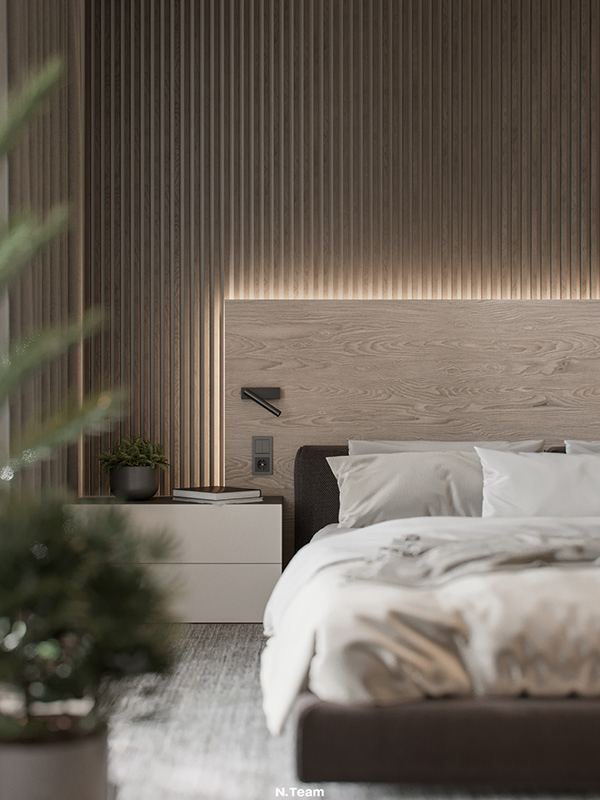 paneling for master bedroom