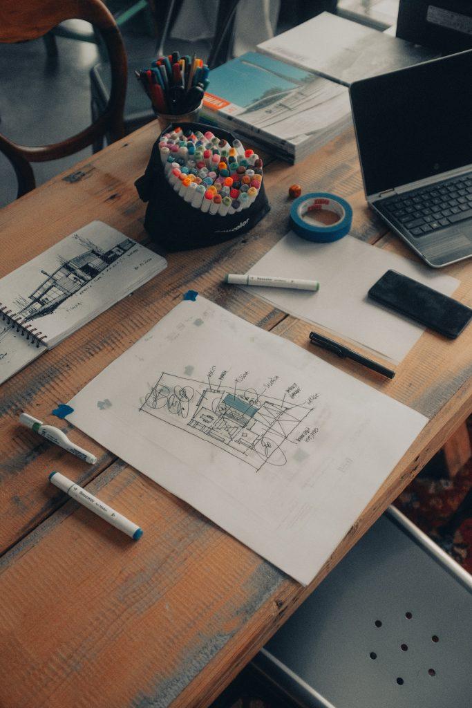 sketchbook - tool for interior designer
