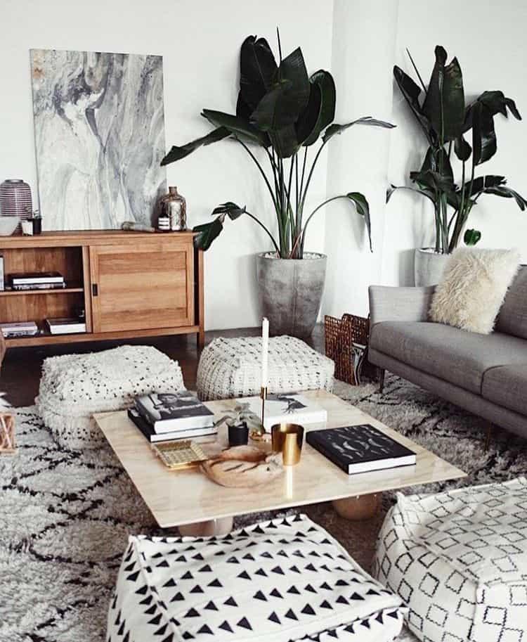 cottagecore interior design - sun seats