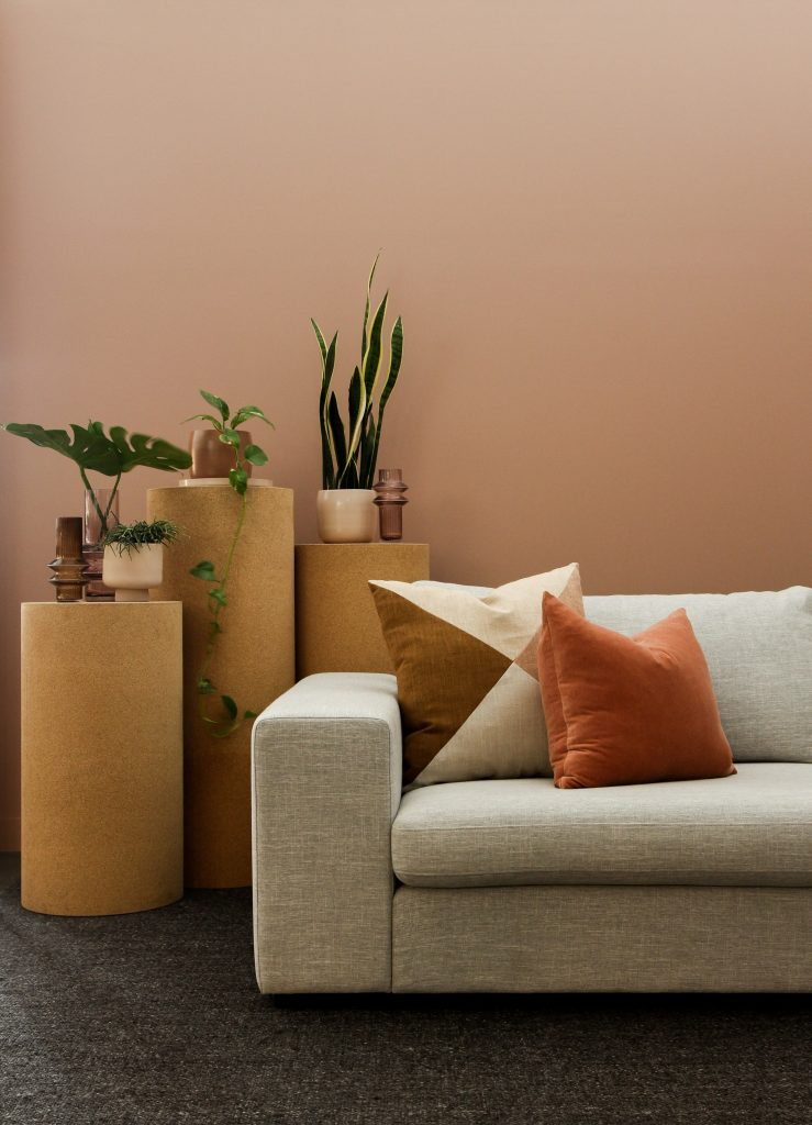wall to sofa