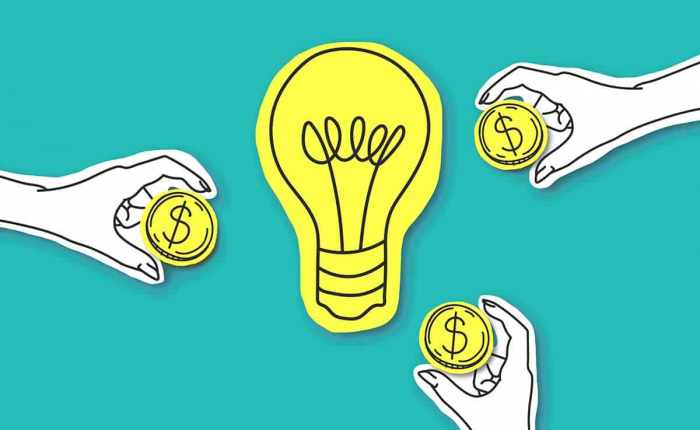 how to fundraise for an interior design business