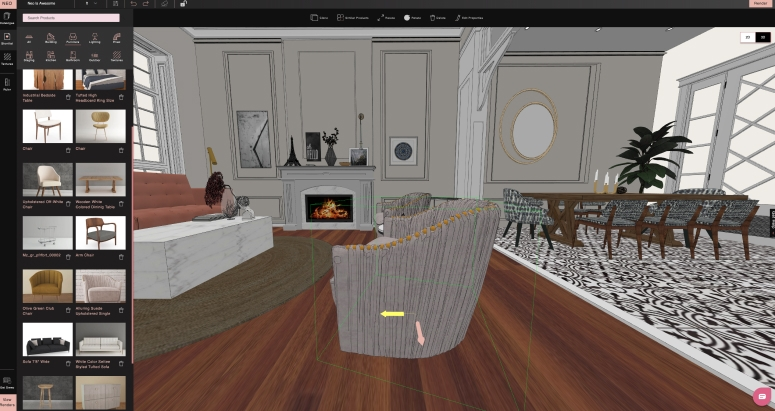 Interior Design Software Create Instant 3d Designs Foyr Neo